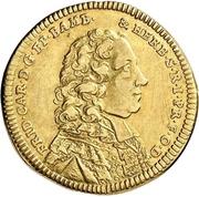 1 Goldgulden - Friedrich Karl von Schönborn – avers