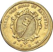 1 Goldgulden - Friedrich Karl von Schönborn – revers