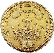 1 Goldgulden - Anselm Franz von Ingelheim – revers
