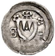 1 Pfennig - Gerhard von Schwarzburg – avers