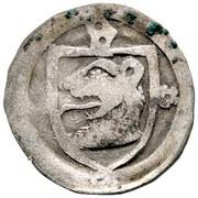 1 Pfennig -  Johann I. von Egloffstein – avers