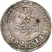1 Schilling - Johann III. von Grumbach – avers