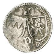 1 Pfennig -  Johann III. von Grumbach – avers