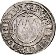 1 Schilling - Rudolf II. von Scherenberg – avers