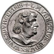 1 Thaler - Lorenz von Bibra – avers