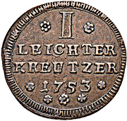 1 Leichter Kreuzer - Karl Philipp Reichsfreiherr von Greiffenclau zu Vollraths – revers