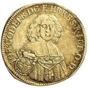 1 goldgulden Johann Gottfried II de Guttenberg – avers