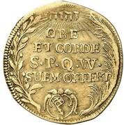 1 goldgulden Johann Gottfried II de Guttenberg – revers