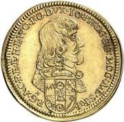 1 goldgulden Johann Philipp de Schönborn – avers