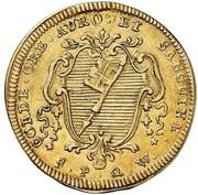 1 goldgulden Friedrich Karl de Schönborn – revers