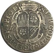 1 Schilling - Johann Gottfried II. von Guttenberg – avers