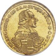1 Goldgulden - Franz Ludwig – avers