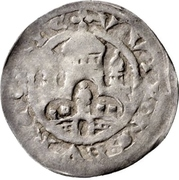 1 Pfennig - Konrad I. von Querfurt – revers