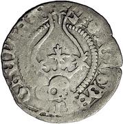 1 Schilling - Sigismund von Sachsen – revers