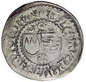 1 Schilling - Sigismund von Sachsen – avers