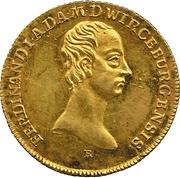 1 Goldgulden - Ferdinand von Österreich – avers