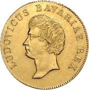 1 Goldgulden - Ludwig – avers