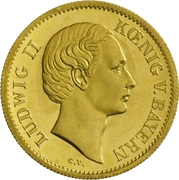 1 Goldgulden - Ludwig II. – avers
