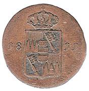 ¼ Kreuzer - Ferdinand d'Autriche – avers