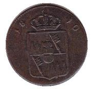 ½ Kreuzer - Ferdinand d'Autriche – avers