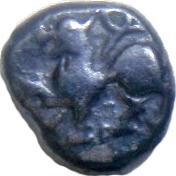 ⅙ Kahavanu  Singhana Deva II – avers