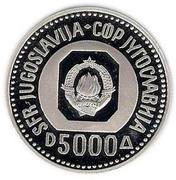 5000 Dinars (200 ième anniversaire de la naissan de Karajick) – avers