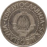10 dinars (Essai) – avers