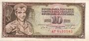 10 Dinar – avers