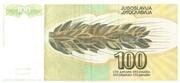 100 Dinara – revers