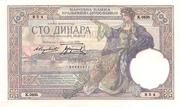 100 Dinara – avers