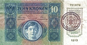 10 Kruna – avers