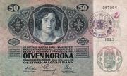 50 Kruna – revers