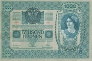 1000 Kruna – avers