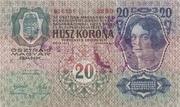 20 Kruna – revers