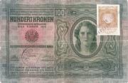 100 Kruna (Croatian) – avers