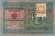 100 Kruna (Slovenian) – avers