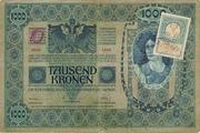 1000 Kruna (Serbian) – avers