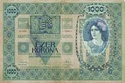 1000 Kruna (Serbian) – revers