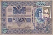 1000 Kruna (Croatian) – avers