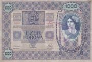 1000 Kruna (Croatian) – revers