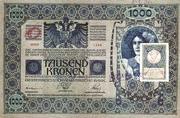 1000 Kruna (Slovenian) – avers