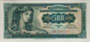 500 Dinara – avers