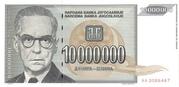 10,000,000 Dinara – avers