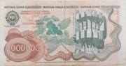 2,000,000 Dinara – revers