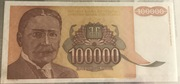 100.000 dinara - Not issued – avers