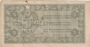 5 Lire (5 Lir, 5 Lira) – avers