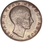50 dinars (Royaume de Yougoslavie) – avers