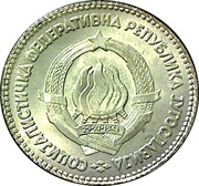 20 dinars – avers