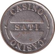 Jeton de jeu - Casino Sati – avers