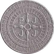 Jeton de jeu - PJJJ (26 mm, cupronickel) – revers